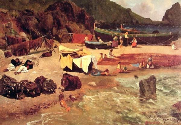 Fishing Boats at Capri